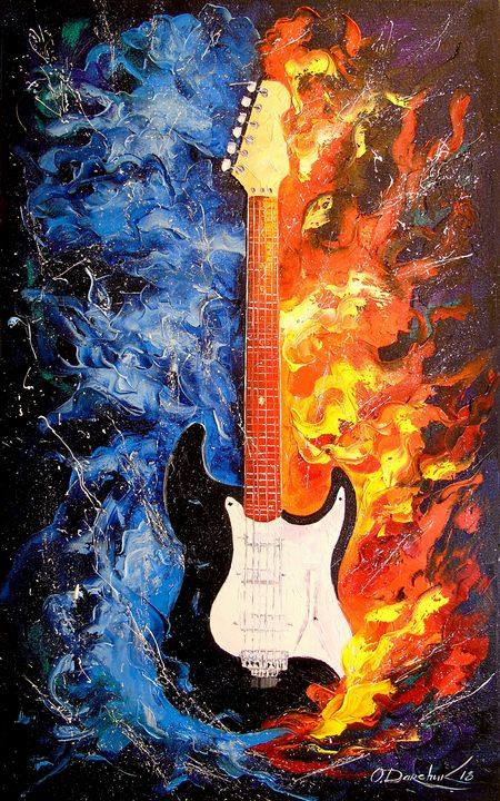 The sound of the guitar - Olha Darchuk