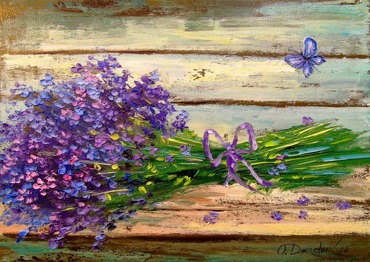 Bouquet of lavender - Olha Darchuk