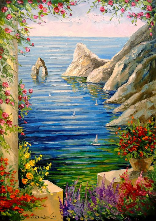 View of the rocks - Olha Darchuk