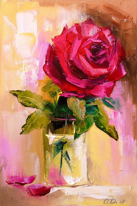 Fresh rose - Olha Darchuk