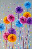 Flowers, art, painting, abstractio