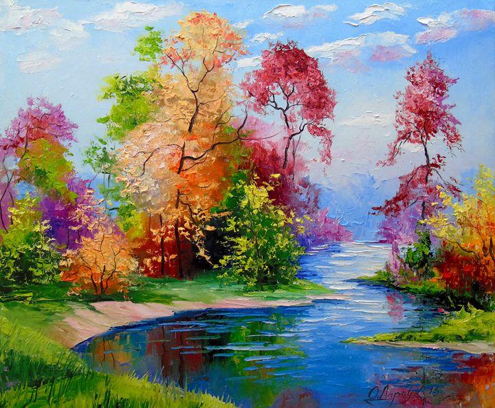 Glorious autumn - Olha Darchuk