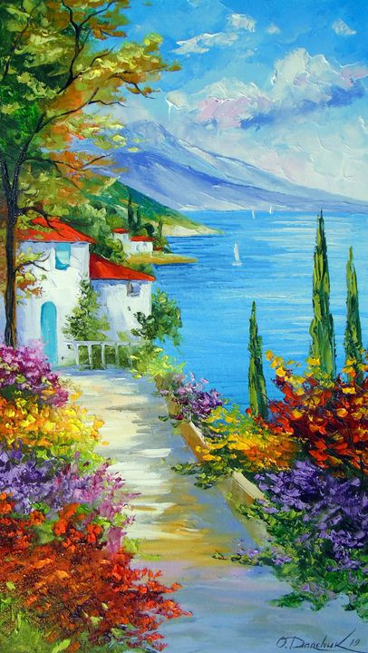 Midday by the sea - Olha Darchuk