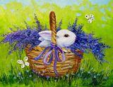 Rabbit art,animal art,light art,flo