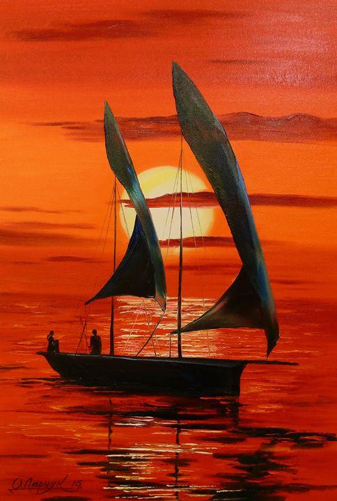 at sunset - Olha Darchuk