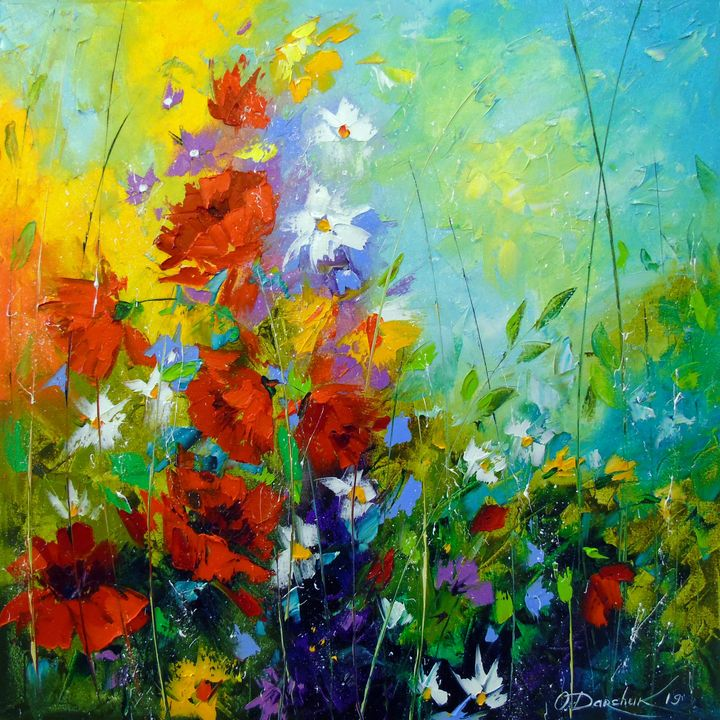 Rhythm of summer flowers - Olha Darchuk