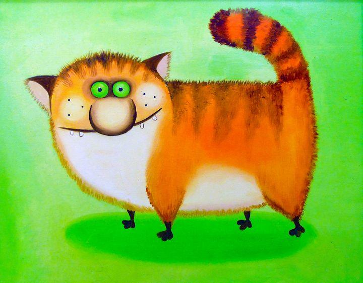 Cunning cat - Olha Darchuk