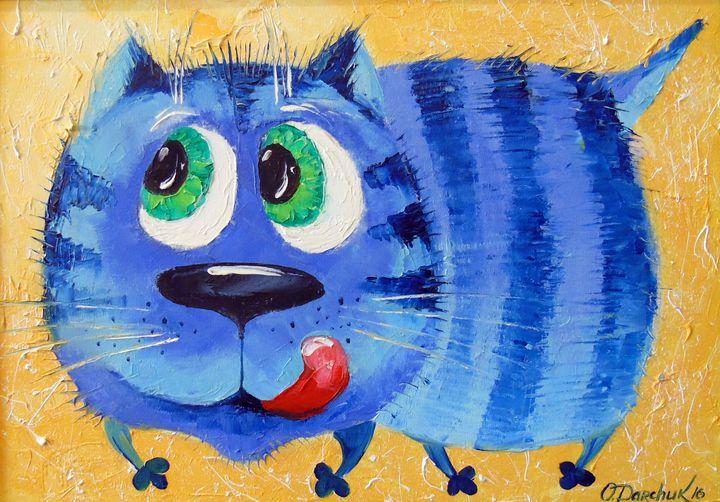 Hungry cat - Olha Darchuk