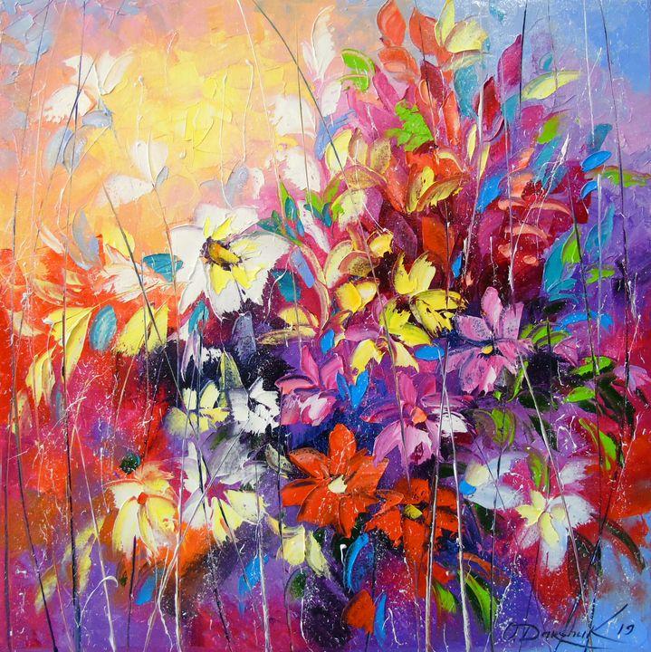 Dance of flowers - Olha Darchuk