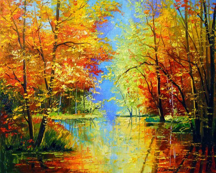 Autumn silence - Olha Darchuk