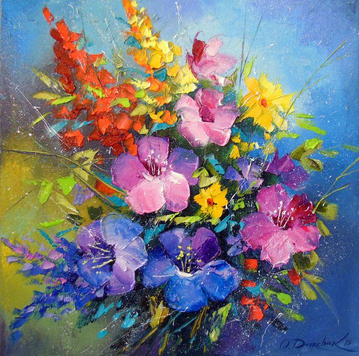 Flowers summer - Olha Darchuk