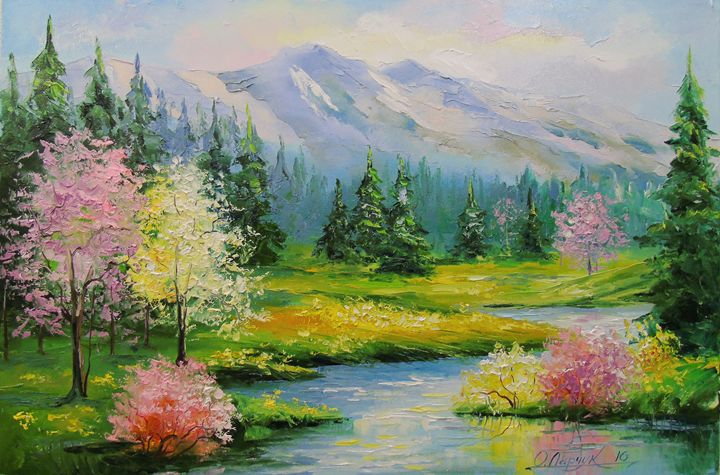 Spring Brook - Olha Darchuk