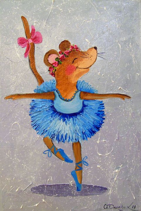 Mouse in the dance - Olha Darchuk