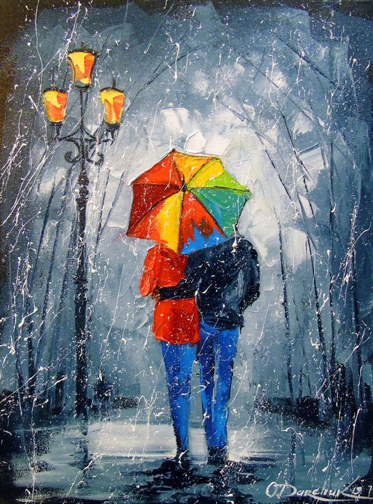 Bright walk in the Park - Olha Darchuk