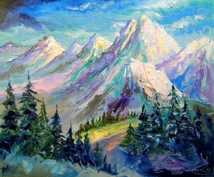 Snowy mountains - Olha Darchuk