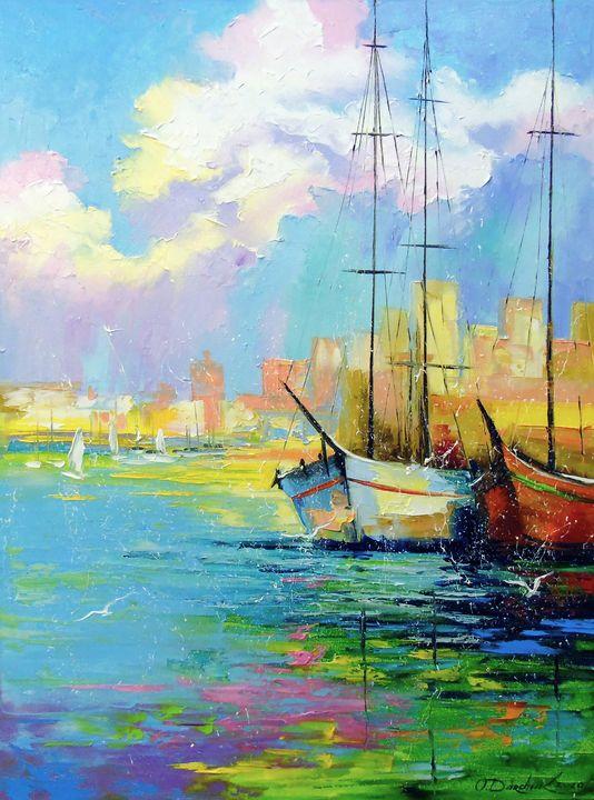 Rainbow morning - Olha Darchuk
