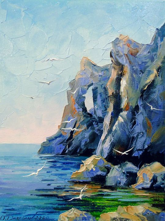 Rocky shore - Olha Darchuk