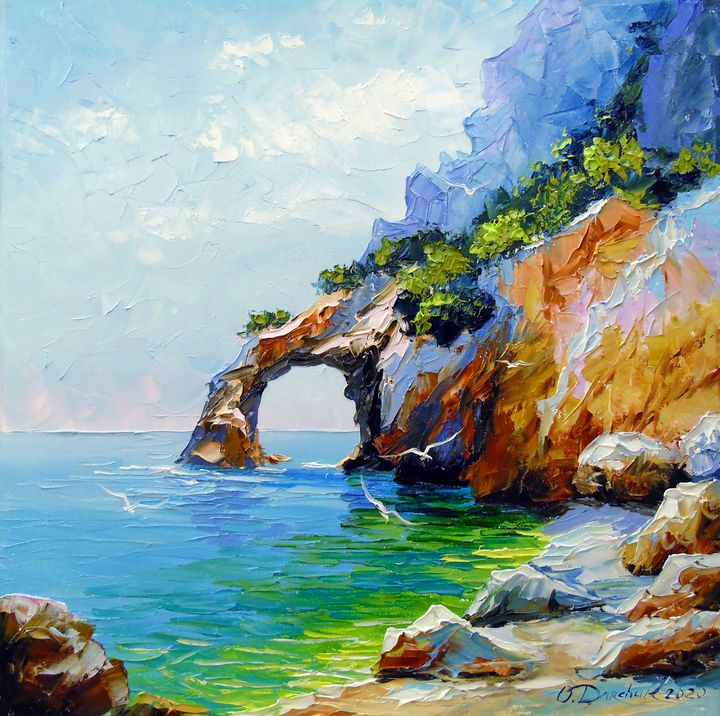 Arch of happiness by the sea - Olha Darchuk