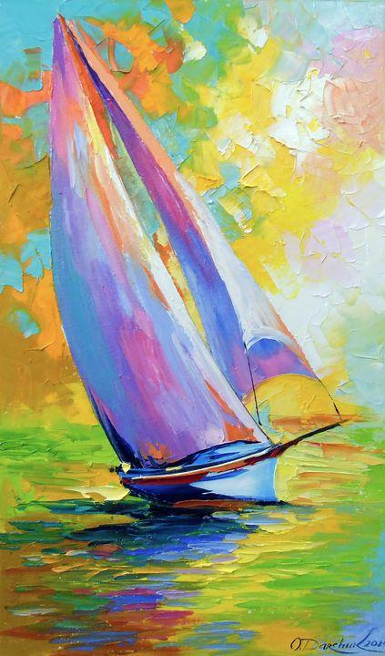 Fresh wind - Olha Darchuk
