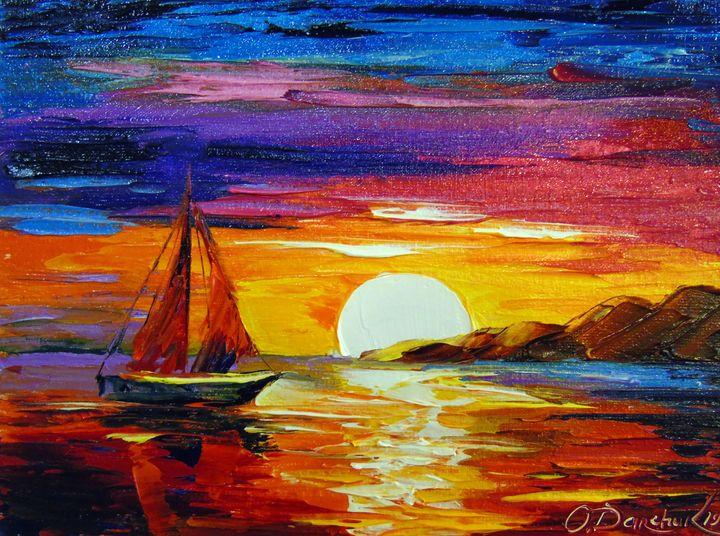 Sunset - Olha Darchuk