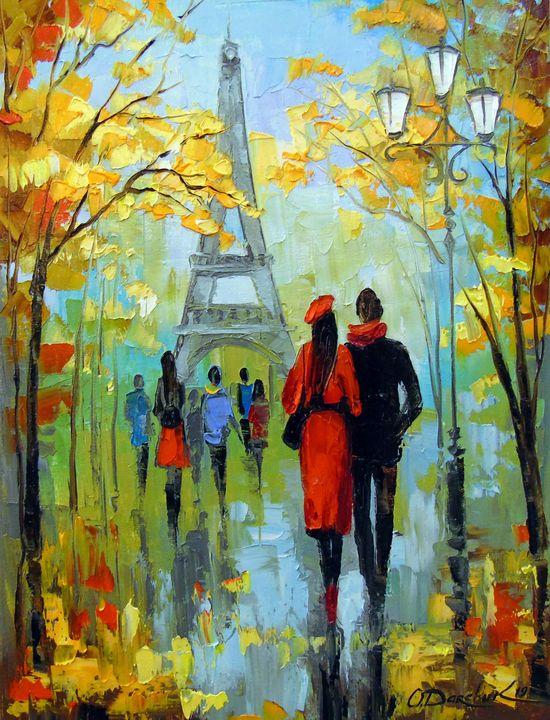 A walk in Paris - Olha Darchuk