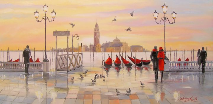 Morning in Venice - Olha Darchuk