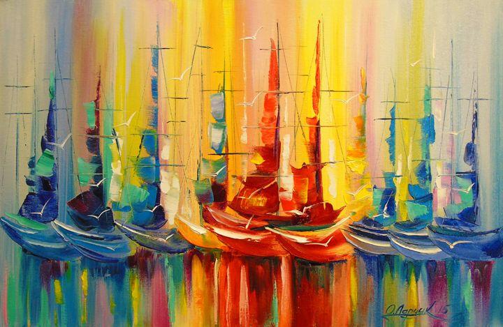 Rainbow Regatta - Olha Darchuk