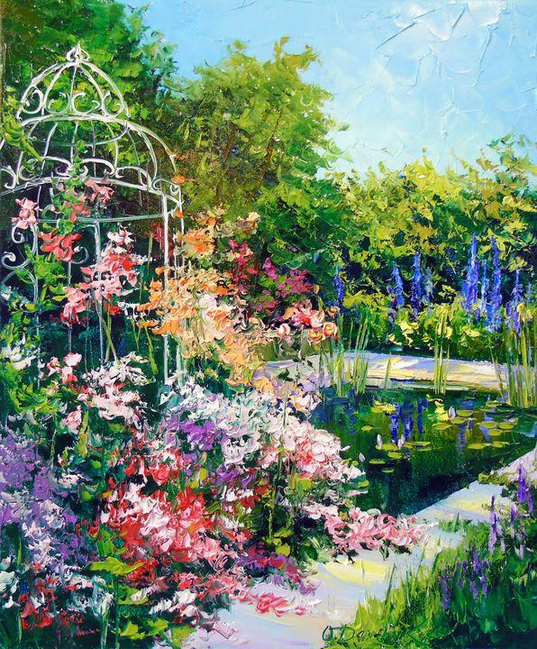 Summer pond - Olha Darchuk