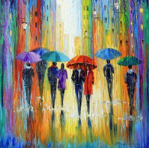 Melange rain