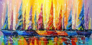 Bright sails