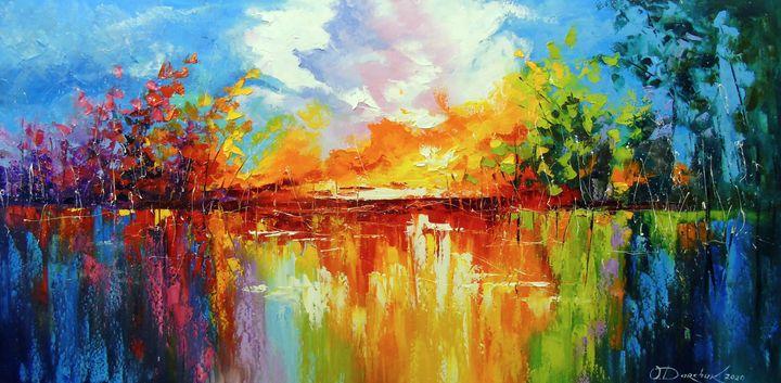 Dreams at sunset - Olha Darchuk