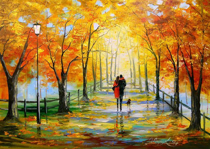 Golden autumn - Olha Darchuk