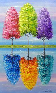Each tree has a vibrant life