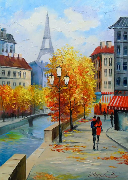 Autumn in Paris - Olha Darchuk