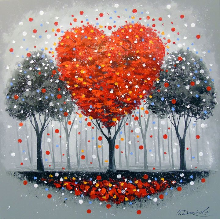 Tree of love - Olha Darchuk
