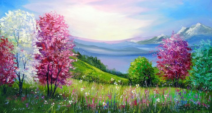 Spring in the mountains - Olha Darchuk