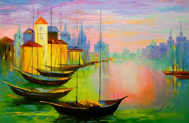 Boats - Olha Darchuk