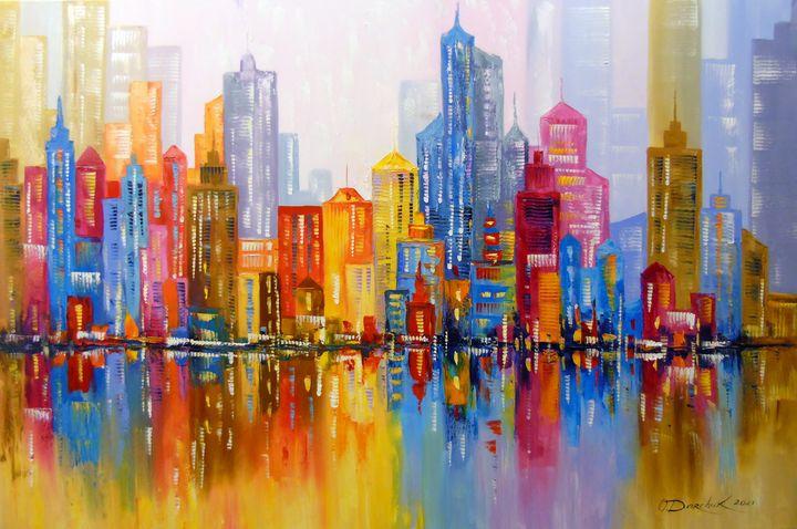 Rainbow city - Olha Darchuk