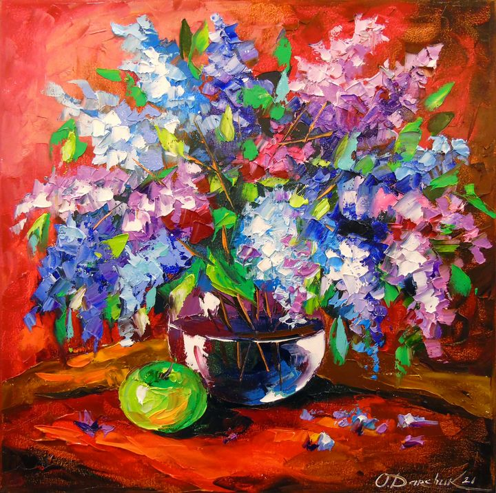 Bouquet of spring lilac - Olha Darchuk