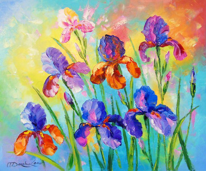 Irises - Olha Darchuk