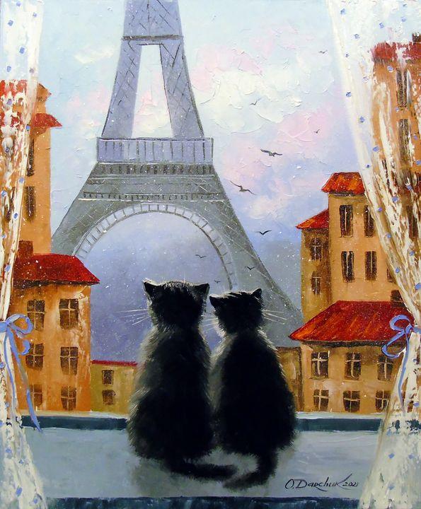 Cats Parisians - Olha Darchuk