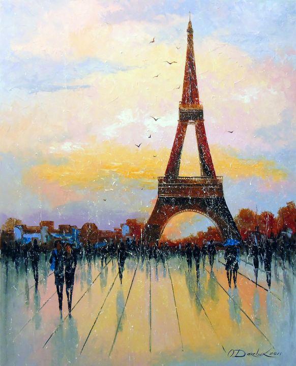 Walk through Paris - Olha Darchuk