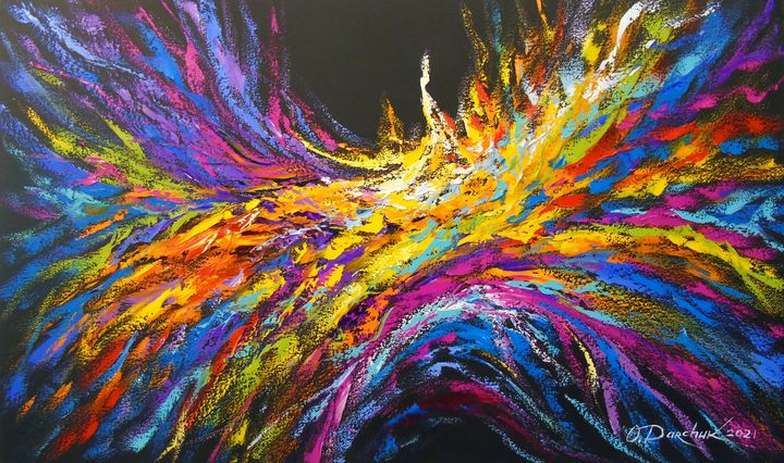 Wave of energy - Olha Darchuk