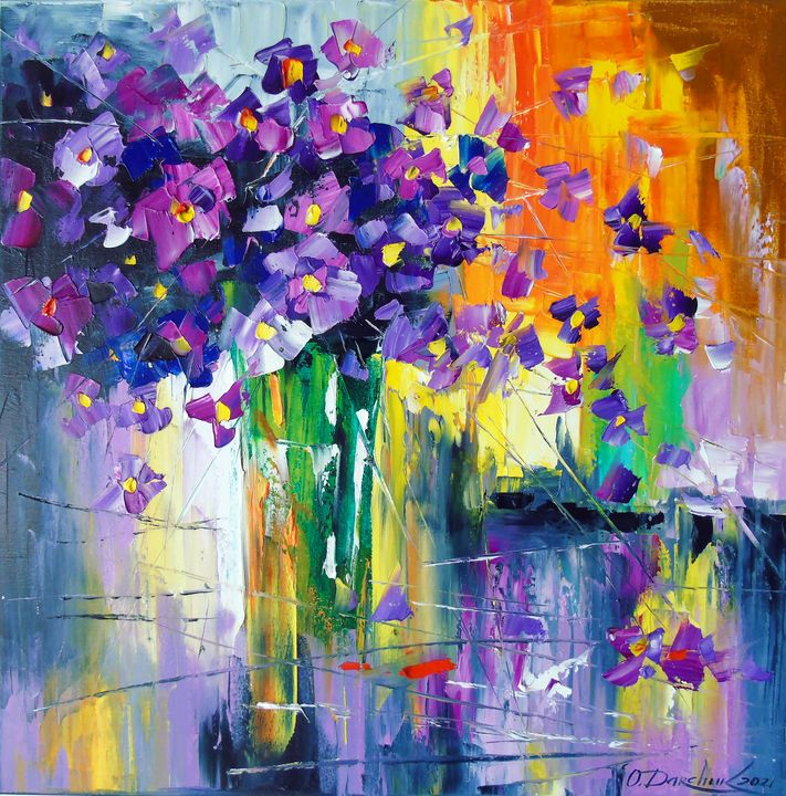 Bouquet of passion - Olha Darchuk