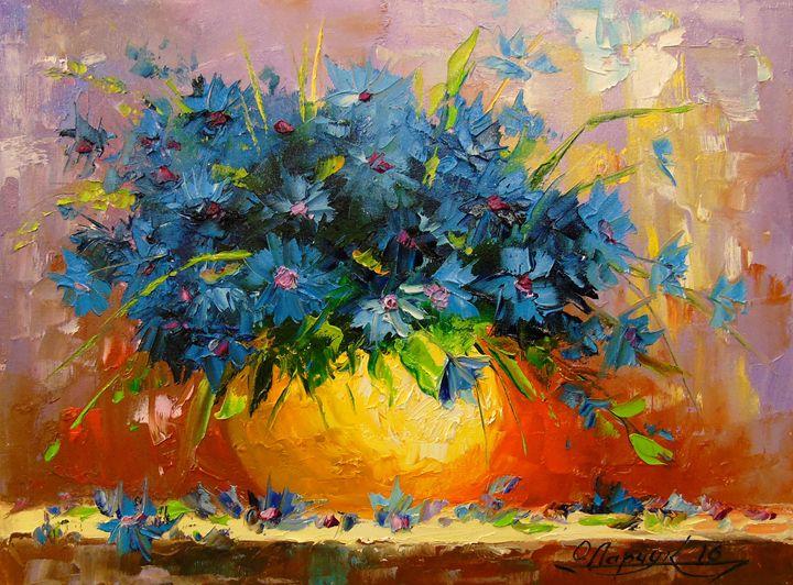 Cornflowers - Olha Darchuk