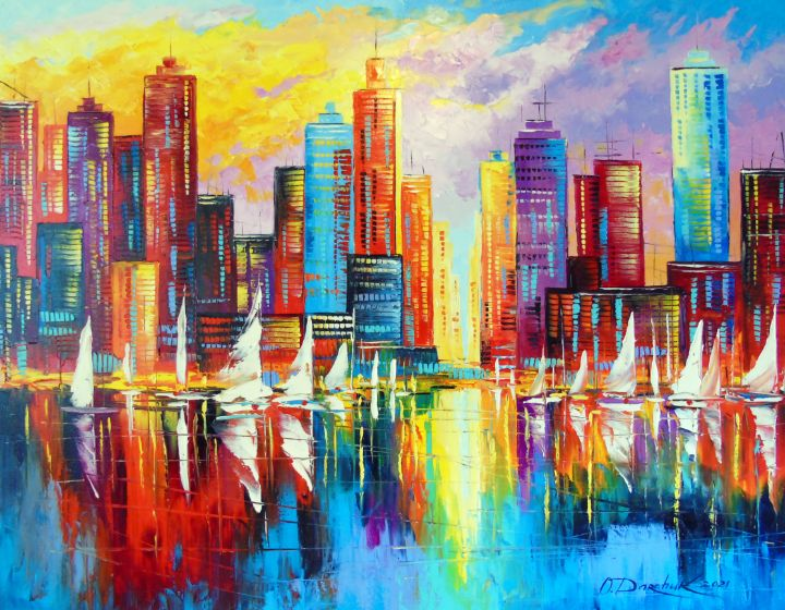 Evening New York - Olha Darchuk