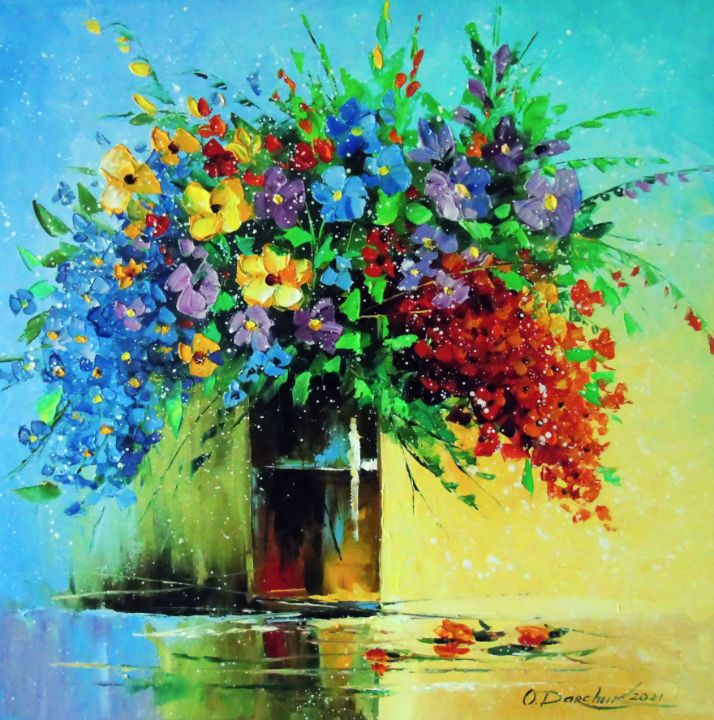 Bouquet of wild flowers - Olha Darchuk