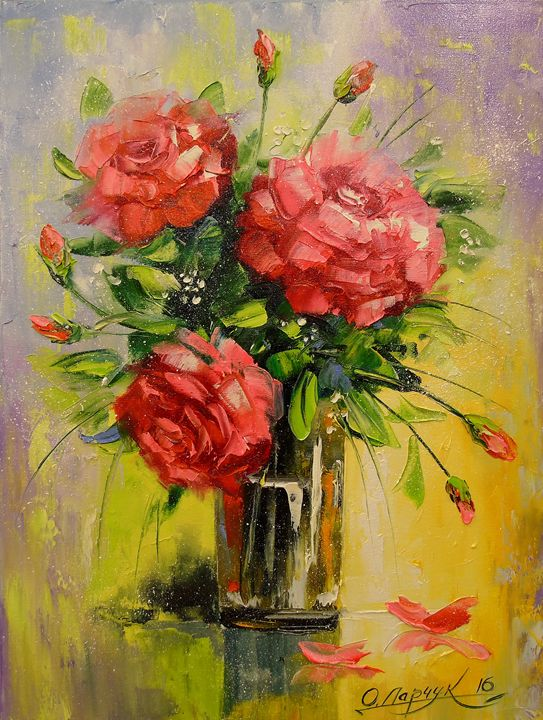 Bouquet of roses - Olha Darchuk