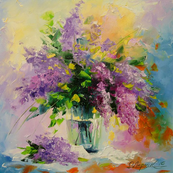 Lilac Bouquet - Olha Darchuk