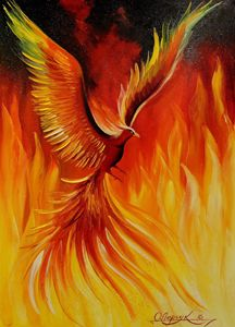 Phoenix Bird - Olha Darchuk